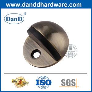 Stainless Steel Antique Brass Floor Mounted Door Stop-DDSS001