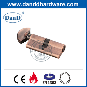 High Security Euro Mortise Lock Cylinder with Thumbturn-DDLC005