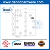 Grade 304 ANSI Grade 2 Full Mortise Fireproof Hinge for Exterior Door- DDSS001-ANSI-2