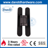 3D Black Zinc Alloy Adjustable Heavy Duty Concealed Hinge-DDCH008-G80