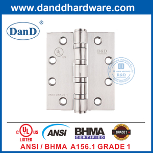 ANSI BHAM SUS201 Heavy Duty Door Hinge for Fire Rated Door-DDSS001-ANSI-1