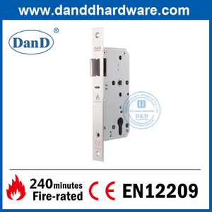 CE Marked Euro SS304 Fire Rated Night Latch Lock-DDML014
