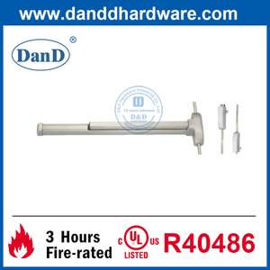 SUS304 Design Hardware Touch Bar Vertical Rod Exit Device-DDPD002