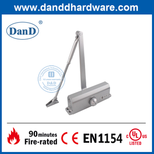 UL Listed Fire Rated Overhead Spring Residential Door Closer-DDDC017