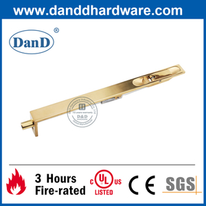 Brass Fitting Concealed Door Flush Bolt for Internal Door-DDDB004