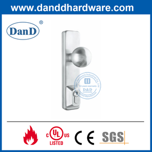 Stainless Steel 304 Panic Exit Device Escutcheon Knob Trim-DDPD013