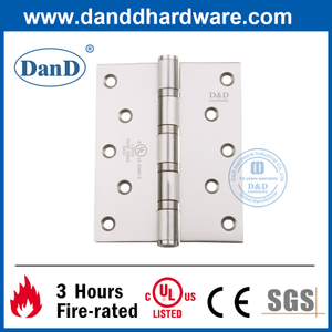 Grade 201 UL Listed 270 Degree Ball Bearing Fire Door Hinge-DDSS007-FR